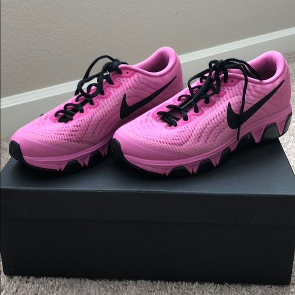 Womens Pink Nike Fitsole Running Shoes